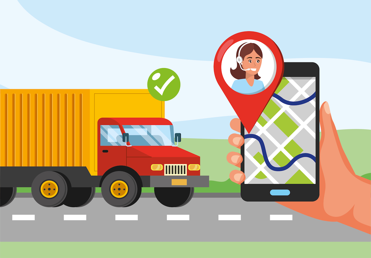 truck-transport-hand-with-gps-location-call-center-service